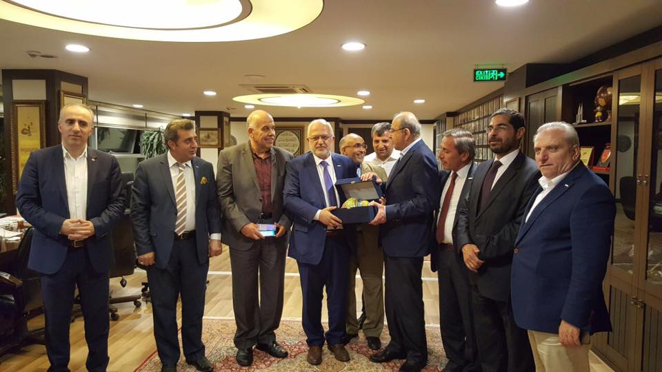 THE FORMER PRESIDENT OF ASSEMBLY AND FORMER PRIME MINISTER TAHIR MISRI AND HIS COMMITTEE VISITED YENİAD